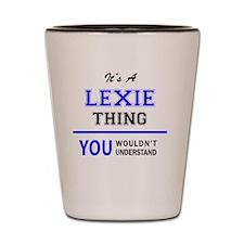 Cute Lexie Shot Glass