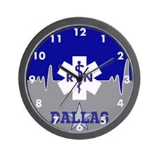 Dallas Nurse Wall Clock