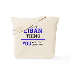 Cute Liban Tote Bag