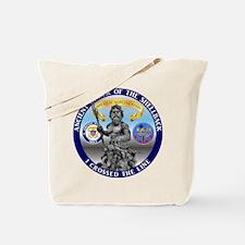 CV-43 Navy Shellback Tote Bag