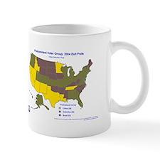 Urban Type State Map Mug