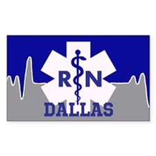 Dallas Nurse Decal