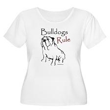Bulldogs Rule Black T-Shirt