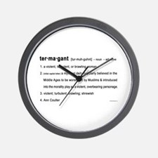 Coulter - Termagant Wall Clock