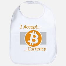I Accept Bitcoin Bib