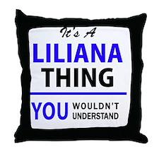 Cute Liliana Throw Pillow