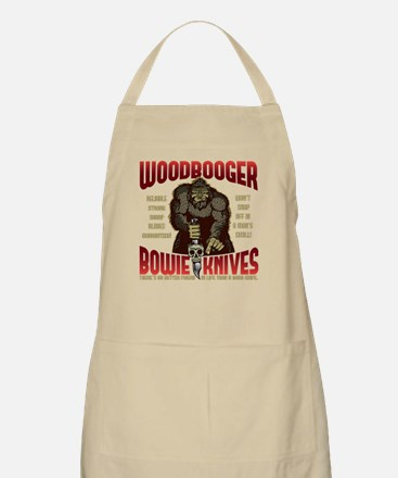 Woodbooger Bowie Knives Apron