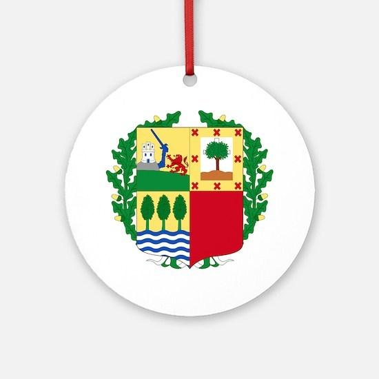 Cute Espania Round Ornament