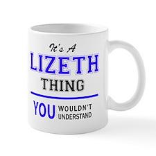 Cute Lizeth Mug