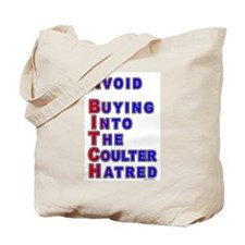 Coulter - A Bitch Tote Bag