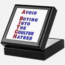 Coulter - A Bitch Keepsake Box