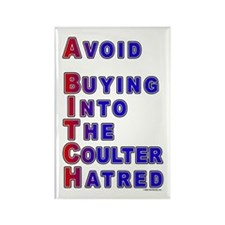Coulter - A Bitch Rectangle Magnet