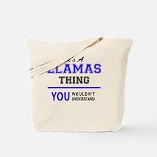 Cute Llama Tote Bag