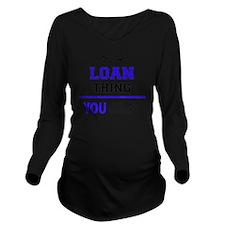 Unique Loans Long Sleeve Maternity T-Shirt