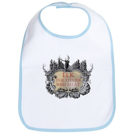 Elk the other red meat gifts Bib