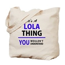 Unique Lola Tote Bag
