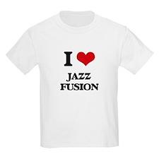 I Love JAZZ FUSION T-Shirt