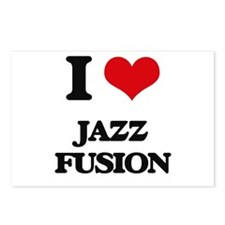 I Love JAZZ FUSION Postcards (Package of 8)