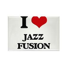 I Love JAZZ FUSION Magnets