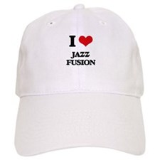 I Love JAZZ FUSION Baseball Cap