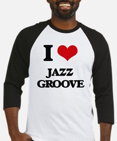 Cute Jazz radio Baseball Jersey