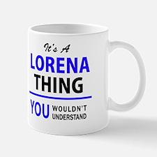 Unique Lorena Mug