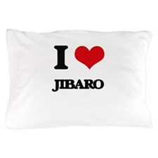 I Love JIBARO Pillow Case