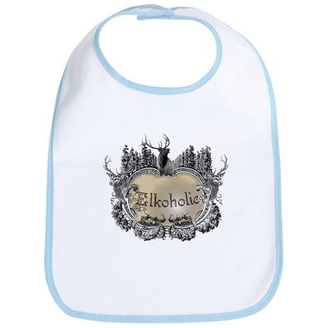 Elkoholic shirts and gifts Bib