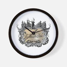 Elkoholic shirts and gifts Wall Clock