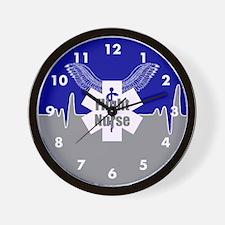 Flight Nurse Wall Clock