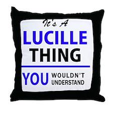 Unique Lucille Throw Pillow