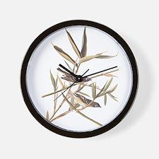 Audubon's Solitary Flycatcher Wall Clock