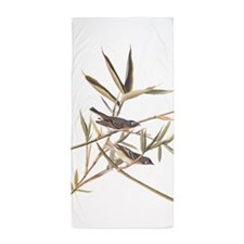 Audubon's Solitary Flycatcher Beach Towel