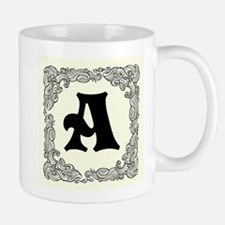 Personalized Monogram Initial Mugs