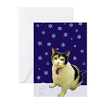 Greeting Cards (Pk of 10) featuring Fat Girl