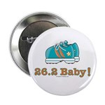 26.2 Baby Marathon Pink Green Running Shoes Button