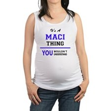 Funny Maci Maternity Tank Top