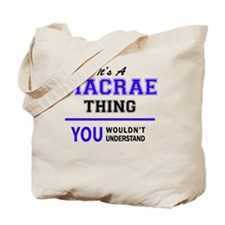 Cute Macrae Tote Bag