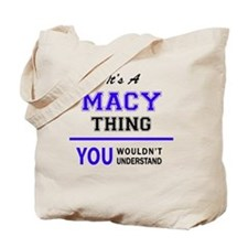 Cute Maci Tote Bag