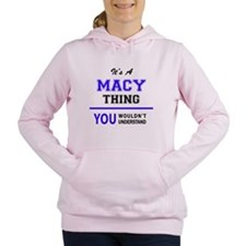 Unique Macy Women's Hooded Sweatshirt
