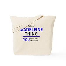 Cute Madeleine Tote Bag