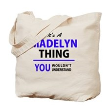 Unique Madelyn Tote Bag