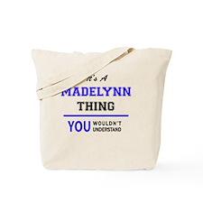 Cute Madelynn Tote Bag