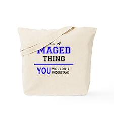 Funny Mage Tote Bag