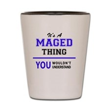 Unique Mage Shot Glass
