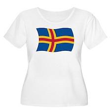 Aaland Flag 2 T-Shirt