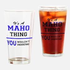 Cute Maho Drinking Glass