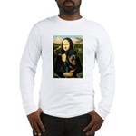 Mona Lisa/Rottweiler Long Sleeve T-Shirt