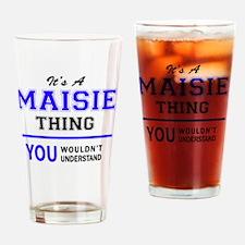Unique Maisie Drinking Glass
