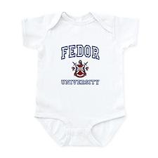FEDOR University Infant Bodysuit